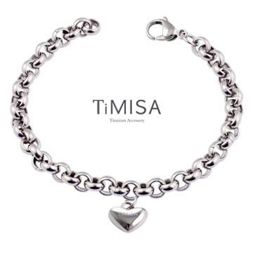 『TiMISA』《真心風之戀-M》純鈦手鍊