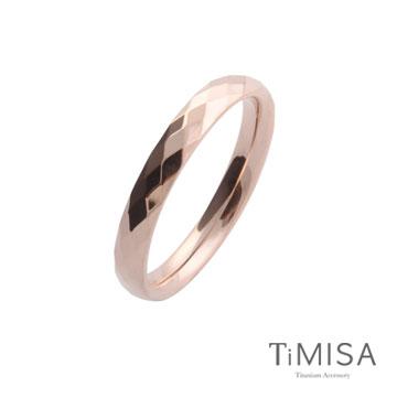 TiMISA《格緻真愛-細版》純鈦戒指(雙色可選)