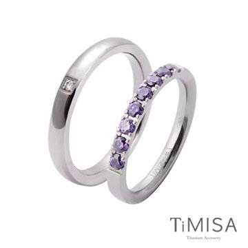 TiMISA《蜜糖愛戀》純鈦情人對戒