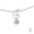 City Diamond『前世印記』15分鑽石項鍊 _AP731