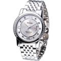 TITONI Spacestar 世紀之星 晶鑽紳士機械錶(83738SDB-362)銀白