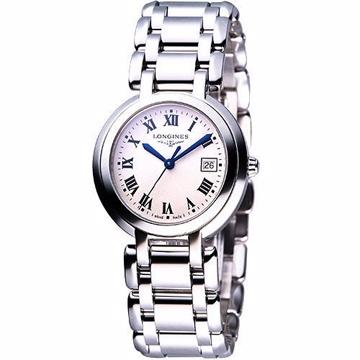 LONGINES PrimaLuna 經典羅馬腕錶-銀 L81104716