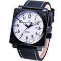 Revue Thommen 超級領航者飛行機械錶(16576.2573)白色面