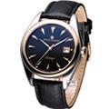 REVUE THOMMEN 梭曼錶 紐約都會 紳士機械錶-(21010.2557)黑色
