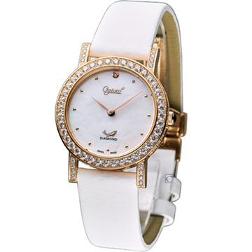 380-16DL愛其華 Ogival月光舞曲晶鑽腕錶