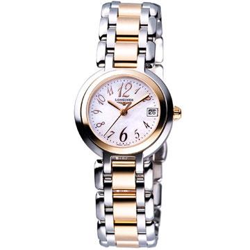 LONGINES PrimaLuna 新月水舞18K腕錶(L81105836)玫瑰金