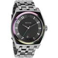 NIXON THE MONOPOLY 潮流指標設計指針腕錶-炫彩框/40mm