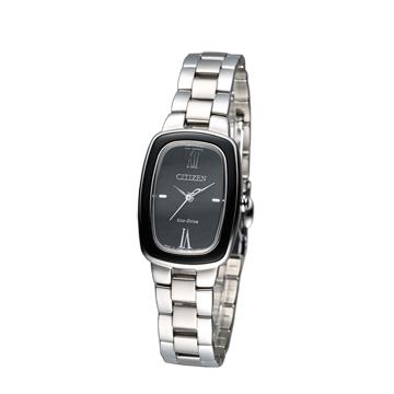 CITIZEN L系列 時尚氣質女腕錶 EM0007-51E黑 CITIZEN Eco-Drive