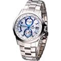 CASIO OCEANUS 智慧科技 薄型時尚電波錶-(OCW-S2000PW-7A)白色