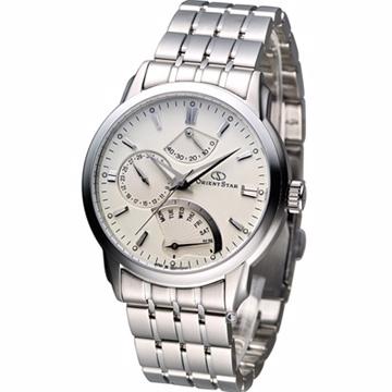 ORIENT STAR Classic 動力儲存機械紳士錶 SDE00002W