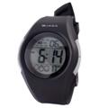 JAGA捷卡M984多功能防水100米運動電子錶-黑