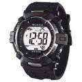 JAGA捷卡 多功能防水100米運動電子錶-M979B(黑色)
