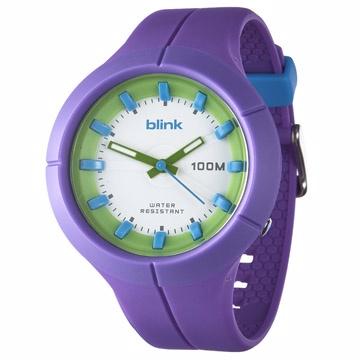 JAGA捷卡 blink系列 維他命蔬果冰沙石英運動錶-AQ1008(紫色)