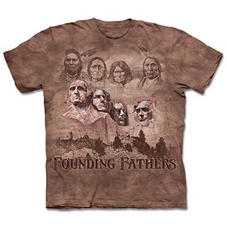 『摩達客』(預購)(大尺碼3XL)美國進口【The Mountain】自然純棉系列 拓荒者  T恤