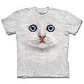 『摩達客』(現貨) 美國進口【The Mountain】自然純棉系列 雪白小貓 T恤
