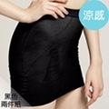 足下物語 280D美臀纖腰塑裙2件組 (S-L) (黑)