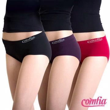 TV熱銷英國COMFIA康裴亞 無痕3D提臀內褲超值3件組(S碼)