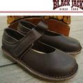 【BLACK JACK 黑傑克足跡舒適鞋】 Rimini 義式簡約時尚城市風格 巧克力色透氣小羊皮