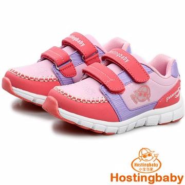 【Hostingbaby小寶當家】x3123粉紅童鞋男童運動鞋春秋女童鞋韓版潮兒童休閒鞋輕便舒適耐磨