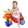 寶貝樂 小企鵝螺旋飛機三輪車