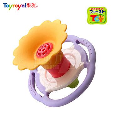 日本《樂雅 Toyroyal》牙膠吹笛搖鈴