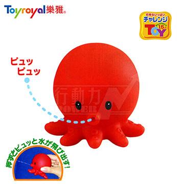 日本《樂雅 Toyroyal》軟膠章魚