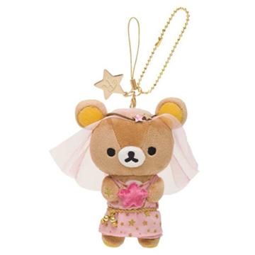 San-X 懶熊12星座毛絨公仔吊飾店舖限定版。處女座