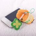 Kapibarasan 水豚君幸運草系列手機吊飾(米/棕)