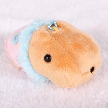 Kapibarasan 水豚君星空系列珠鍊吊飾(咖啡)