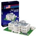 3D Puzzle 世界建築精裝版-美國白宮