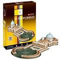 3D Puzzle 世界建築精裝版-梵諦岡聖彼得大教堂