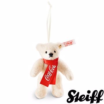 STEIFF德國金耳釦泰迪熊 - 可口可樂北極熊 (限量版吊飾)