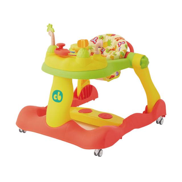 【Creative Baby】糖果版- 多功能三合一音樂折疊式學步車助步車(New Bouncy Step)