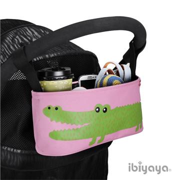 IBIYAYA依比呀呀-嬰兒/寵物推車專用-多用途置物吊袋-鱷魚