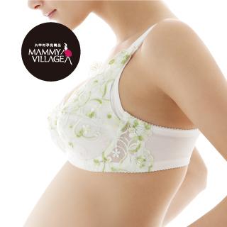 六甲村荷風綠‧全罩式哺乳胸罩E