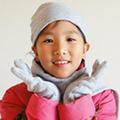 【CoFeel酷咖絨】咖啡混紡兒童時尚保暖帽_灰色
