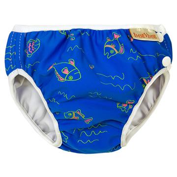 Imse Vimse游泳尿布-藍色小魚