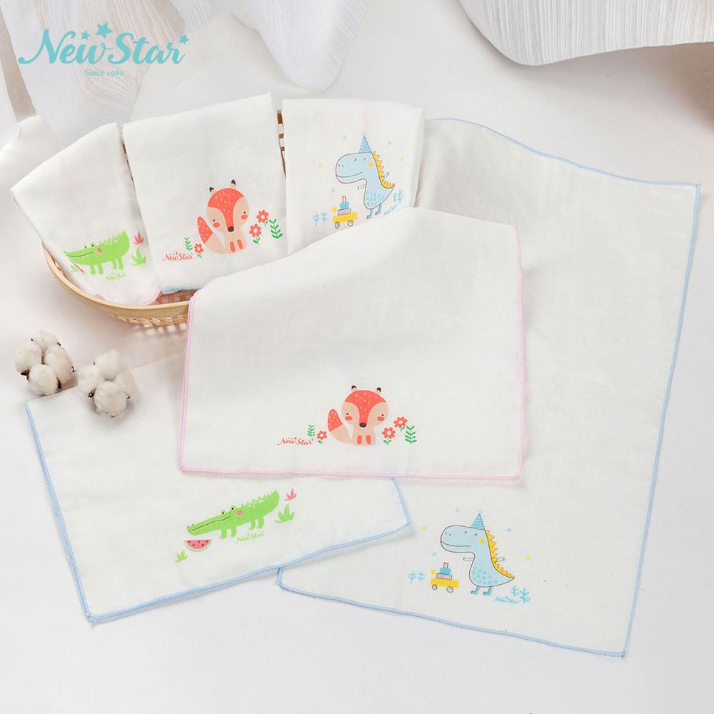 棉紗洗澡巾(印花、2條入)