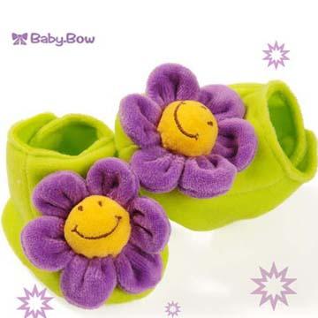 澳洲【Baby Bow】紫花花鞋襪