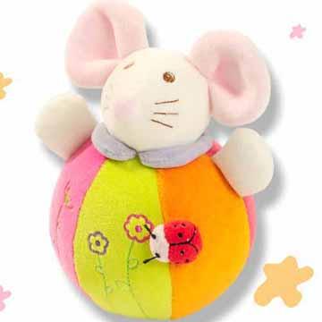 澳洲baby bow-不倒翁造型鼠娃娃