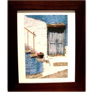 《地中海風情4》風景畫