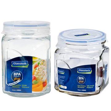 【多禮量販店】《Glasslock》玻璃保鮮罐組 (IP591+IP592)