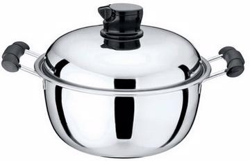 【鵝頭牌】多功能鍋蓋兩用蘋果鍋CI-2604