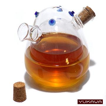 YUKAWA 玻璃醬醋壺