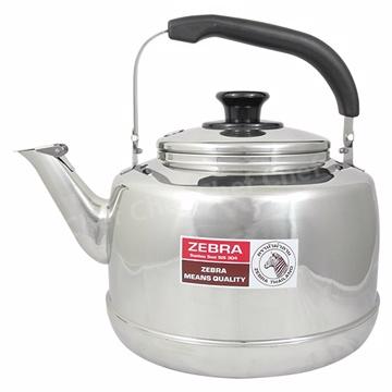 斑馬牌不銹鋼笛音茶壺7.5L