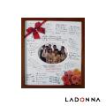 日本 LADONNA Living 簡單生活 畢業手札紀念相框 褐色 KWL02-SQ-BR