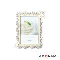 日本 LADONNA Bridal 幸福花嫁 百變花卉4X6相框 MJ72-P-WH
