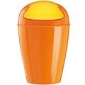 KOZIOL 搖擺蓋垃圾桶(橘XXS)