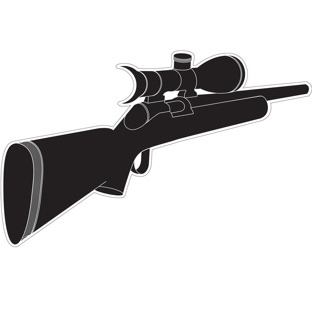 MB Spy 窺視孔裝飾貼紙(步槍)