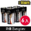【勁量Energizer】1號鹼性電池(6入/盒)